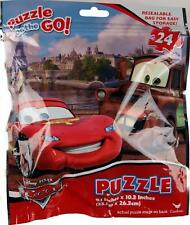 Disney Cars 24 Piece Jigsaw Puzzle - Easy Seal Packet