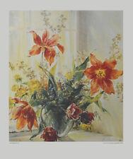 Frieder Wegert Poster Kunstdruck Bild hochwertiger Lichtdruck Tulpen 70x63 cm