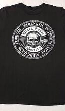 Black Label Society Mens Extra Large Black Cotton T-Shirt Logo