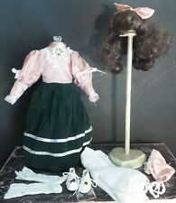 "Antique REPRODUCTION Style 16"" DRESS+ for Antique CHINA BISQUE & ARTIST DOLLS"