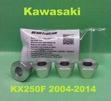 KX250F 04-14 Billet Handlebar Mount Triple Clamp Kawasaki Handle Bar Cone Damper