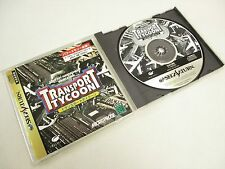 TRANSPORT TYCOON REF bbc Sega Saturn ss