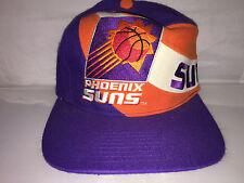 Vtg Phoenix Suns Snapback hat cap 90s NBA Charles Barkley Twins Enterprises og