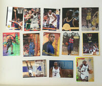 Chris Webber 13 card ROOKIE & INSERT Lot! Skybox-Ultra-Stadium Club-Rock Stars++