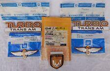 NOS 89 Firebird TURBO Trans Am ORIGINAL GM EMBLEMS 1989 20th Anniversary INDY !