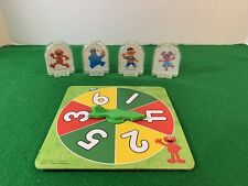 Chutes Ladders Sesame Street Spinner & Pieces Replacement  Elmo/Ernie/Abby/CM
