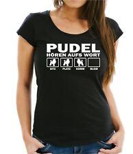 WOMAN T-Shirt PUDEL HÖREN AUFS WORT by Siviwonder