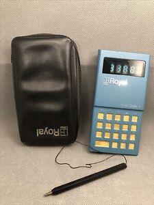 Royal Digital III, Vintage Calculator, Works