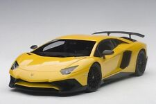 AUTOART 2015 LAMBORGHINI AVENTADOR LP750-4 SV GIALLO ORION/MET YELLOW 1:18*New!