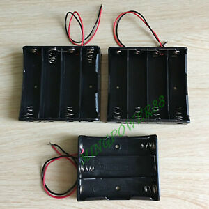 6/12/4PC BATTERY CONNECTOR CASE STORAGE HOLDER BOX FOR 3S / 4P / 4S18650