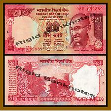 India 20 Rupees, 2013 P-103 (E) Letter, New Rupee Symbol Unc