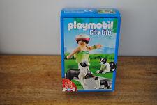 Boite Playmobil CITY LIFE (chiens) NEUVE ref : 5213 jamais ouverte