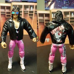 WWE Custom Mattel Elite Summerslam 92 Bret Hart  jacket.
