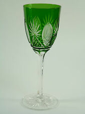 ENGLISH Crystal - MRUK42 - Coloured Hock Wine Glass / Glasses - 7 1/4""