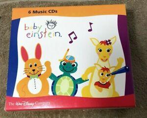 Baby Einstein Disney 6 CD Set (Mozart Beethoven Bach Galileo Neptune Lullaby)