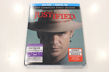 """Brand New "" Justified - Final Season - Bluray + Digital HD - Region A"