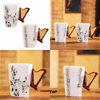 arpa della novita' creativa Maniglia tazza di ceramica Tabs latte del caffe S2N9
