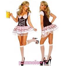 Costume travestimento donna OKTOBERFEST birra halloween carnevale DL-382
