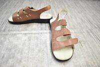 Propet Breeze Walker (W0001) Slingback Sandal - Women's Size 8 W(D) - Brown