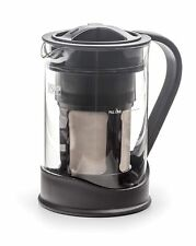 RSVP 32-Ounce Cold Brew Coffee Maker/Pot - Borosilicate Glass-Stainless Steel