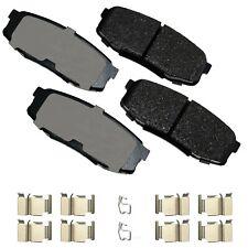Disc Brake Pad Set-ProACT Ultra Premium Ceramic Pads Rear Akebono ACT1304A