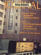 Railmodel Journal Magazine Auto Rack Upgrade November 1994 010119nonrh