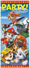 PAW PATROL Scene Setter BIRTHDAY party wall door poster dog decor Chase Marshall