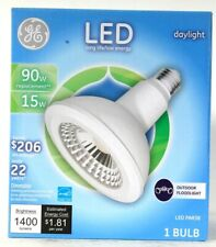 1 Count GE LED PAR38 15w Daylight 1400 Lumens Dimmable Outdoor Floodlight Bulb