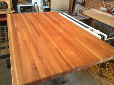"Forever Joint Cherry Butcher Block Top 1-1/2""x 26""x38"" Kitchen Island Top"