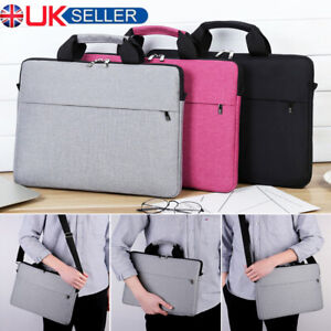 """15.6"""" Laptop Shoulder Bag PC Waterproof Carrying Soft Notebook Case Cover New"""