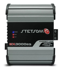 Stetsom Amplifier EX3000 EQ - 3600 Watts RMS 2 ohms Digital Amp Built-In EQ - 3K