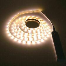 Battery Powered LED Strip Light Wireless PIR Motion Sensor Wardrobe Cabinet Lamp