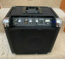 Ion Tailgater AM/FM Radio Sound System, Audio Inputs Amplifier & Dock For Ipod