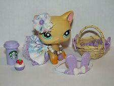 Lps Clothes Accessories Littlest Pet Shop New Design/Real Fabric bow skirt Bunny