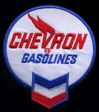 Chevron Patch Gasoline Gas Station Hot Rod Motor Oil