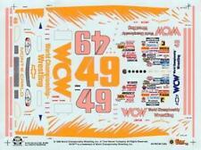 #49 WCW Wrestling 1997 Nascar Decals