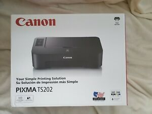Canon Pixma TS202 Inkjet Printer with Ink Included