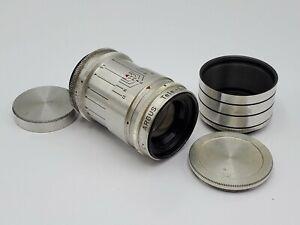 Argus Tele-Sandmar C 100mm F4.5 Lens for C3 Brick Camera - Rare US Zone Germany