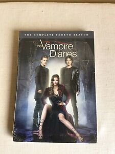 2013 Brand New Factory Sealed The Vampire Diaries Complete Fourth Season DVD