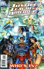 JUSTICE LEAGUE OF AMERICA #0 VARIANT EDITION SIGNED ARTIST J. SCOTT CAMPBELL