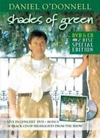 DANIEL O'DONNELL - SHADES OF GREEN LIVE IN CONCERT DVD w/BONUS CD *NEW*
