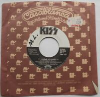 "KISS I love it loud / Danger CANADA ORIG 1982 CASABLANCA 45 HARD ROCK 7"""