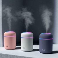 300ML Aire Humidificador Aroma Difusor Ultrasónico de Aceites Esenciales LED