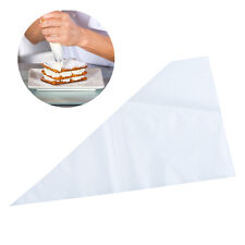 100pcs Disposable Plastic Cake Pastry Decorating Set Frosting Icing Piping Bags