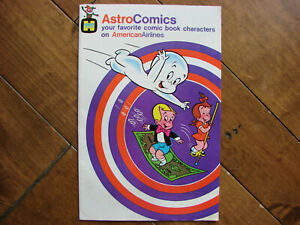 Vintage Astro Comics American Airlines Comic 1979 ~ Casper Richie Rich ~ NICE!!!