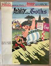 UDERZO ASTERIX ET LES GOTHS 2nde Edition DOS BLANC 1963 BE+