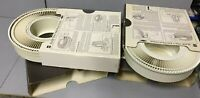 2 Vintage GAF Rotary Slide Carousel Trays w/ Covers & Boxes for Slide Projectors