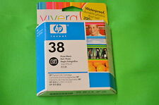 HP 38 Photo Black C9413A Ink PRO B8850 B9180 Retail Boxed - Date 2010