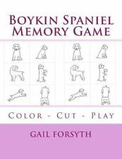 Boykin Spaniel Memory Game, Paperback by Forsyth, Gail, Isbn 1514706555, Isbn.