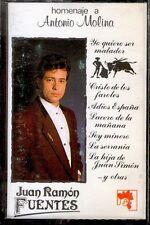 JUAN RAMON FUENTES - Homenaje A Antonio Molina - SPAIN CASSETTE Ar / Cock 1991